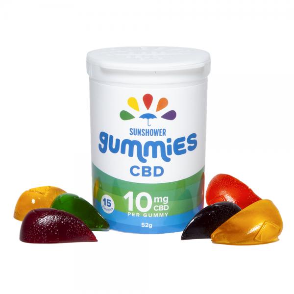 Baked Edibles CBD Sunshower Gummies 10MG