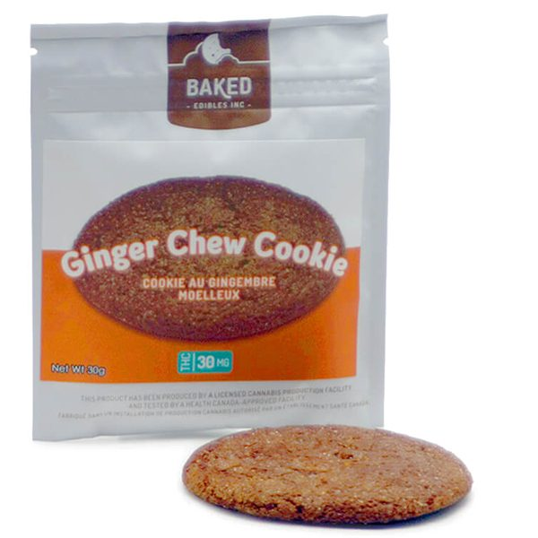 Ginger Chew Cookies 30mg THC
