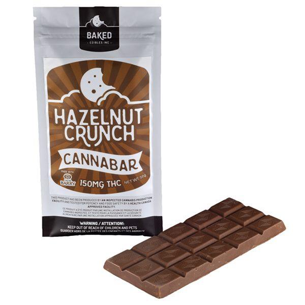 Hazelnut Crunch Cannabar 150mg 1