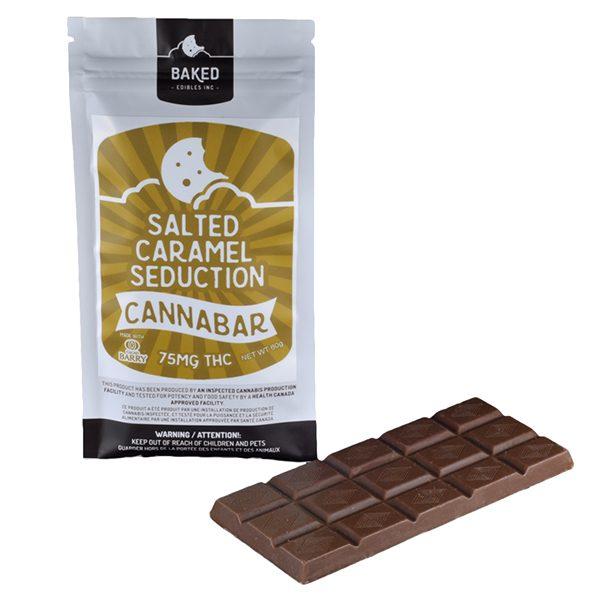 Salted Caramel Seduction Cannabar 75mg 1