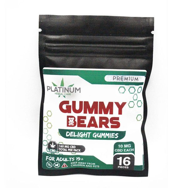 Platinum 160mg CBD Gummy Bears2 2