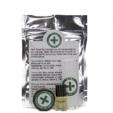 Tetra CBD Travel Pack