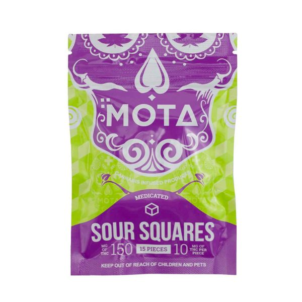 mota thc squares 150mg bg