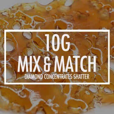 10g diamond concentrates mix bg