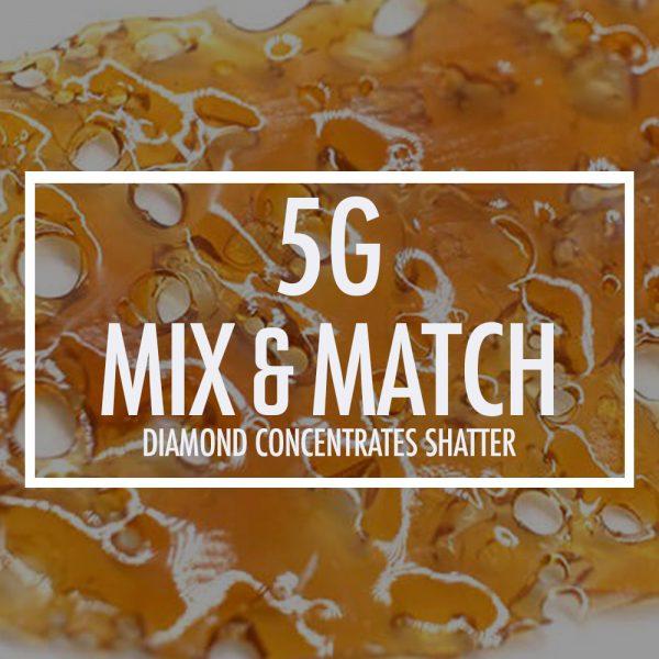 5g diamond concentrates mix bg