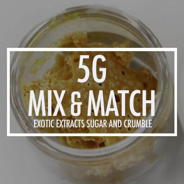 5g exotic extracts sugarcrumble bg