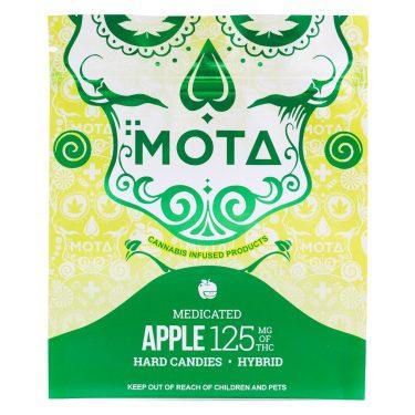 Mota Green Apple Hard Candy 125MG