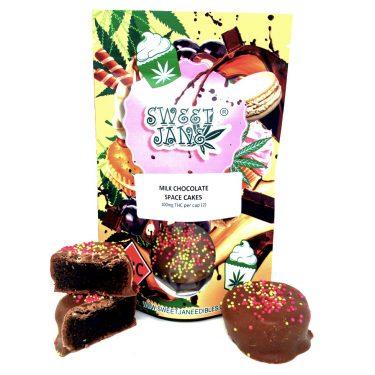Sweet Jane Milk Chocolate Space Cake