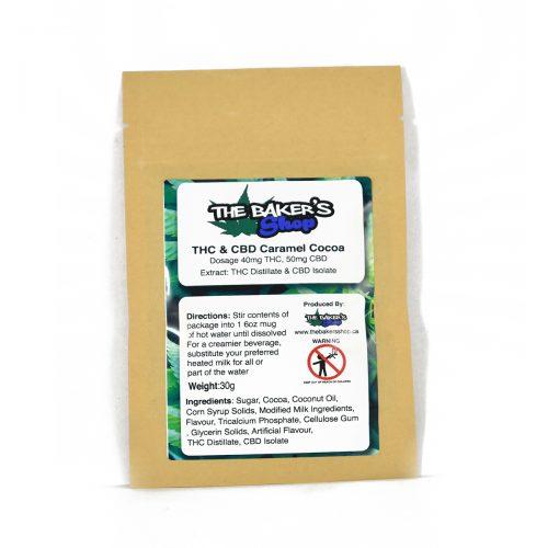 THC CBD Caramel Cocoa 500x500