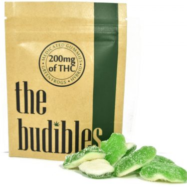The Budibles Green Frogs 1