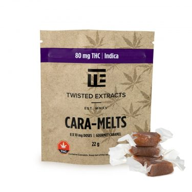 Twisted Extracts INDICA Cara Melts 80MG 1200x1200