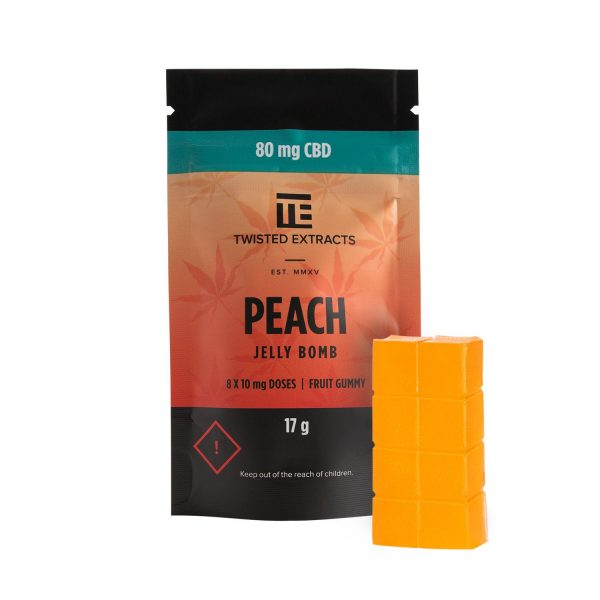 twisted extracts peachcbd new
