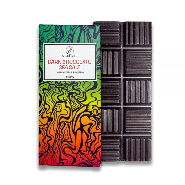 dark chocolate sea salt box bar 5g