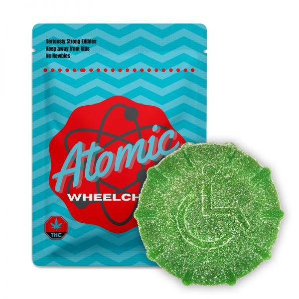 atomic wheelchair gummy green web