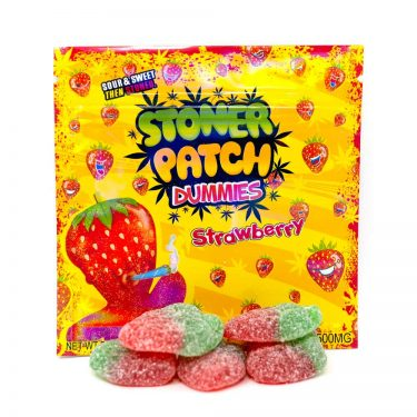 stoner patch dummies strawberry